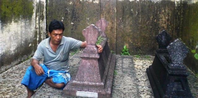 makam desa tanjungsari kecamatan sukohaji