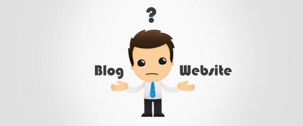 perbedaan blog dengan website