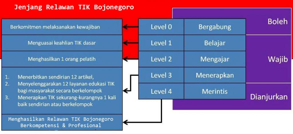 jenjang relawan tik indonesia