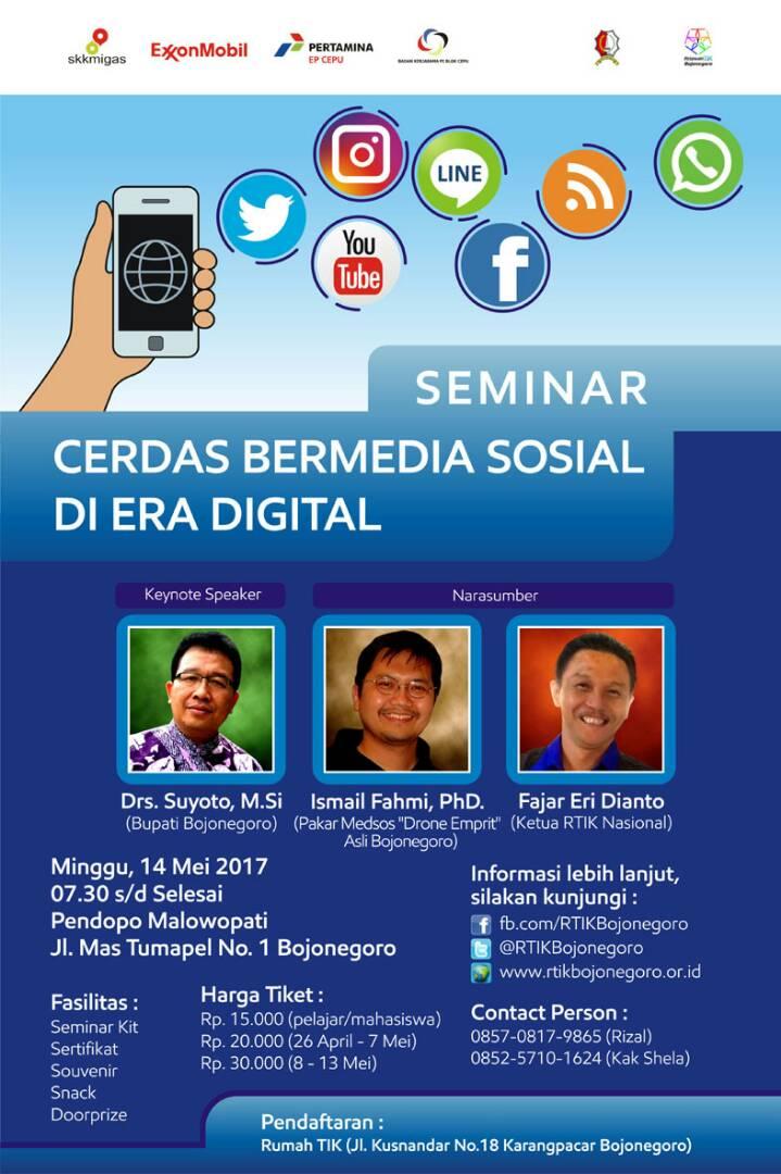 Netizen Yuk Ikut! Seminar Cerdas Bermedia Sosial Di Era Digital